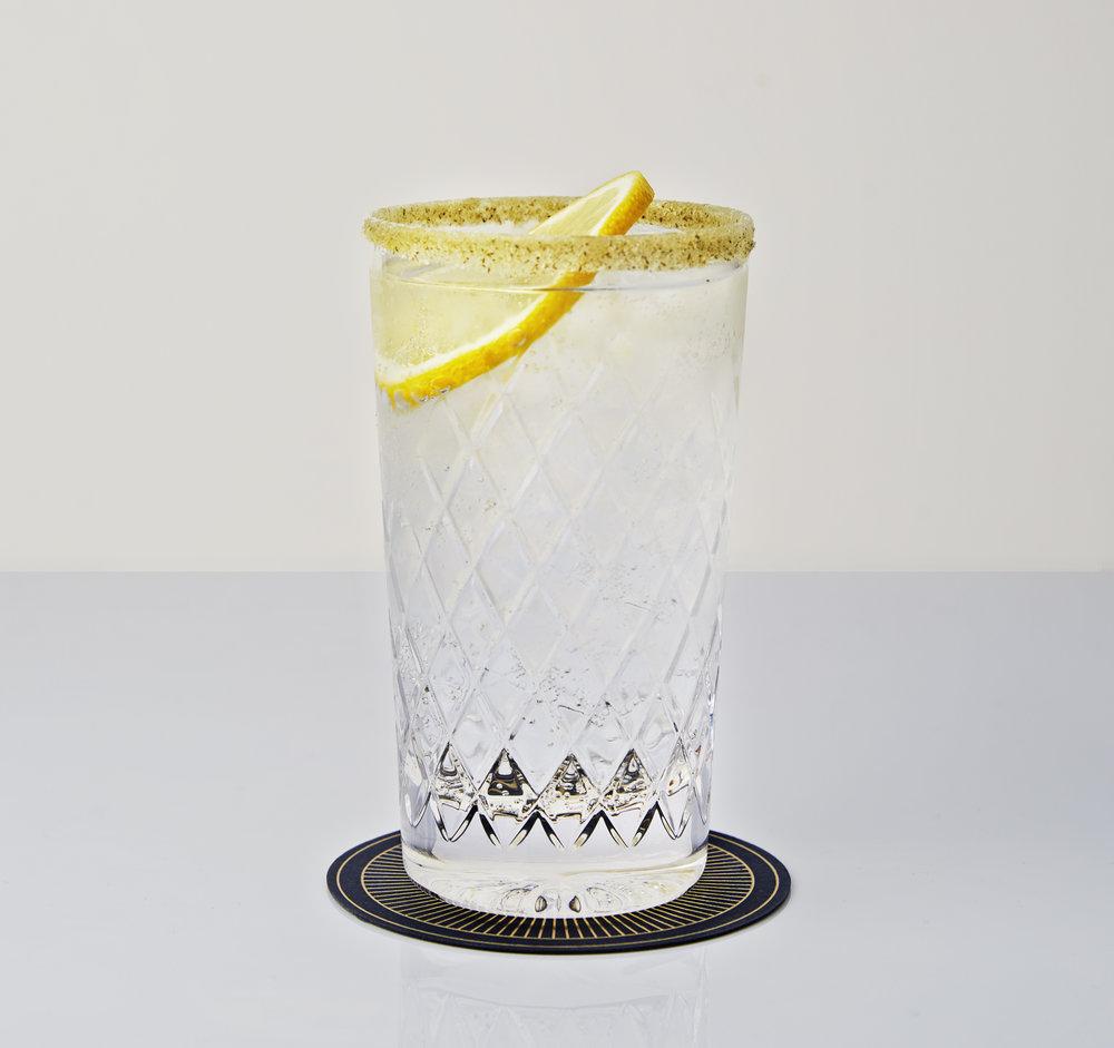 Hepple Gin and tonic