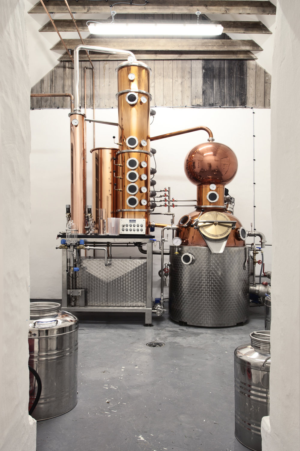 Copper Pot Still for Smoothness
