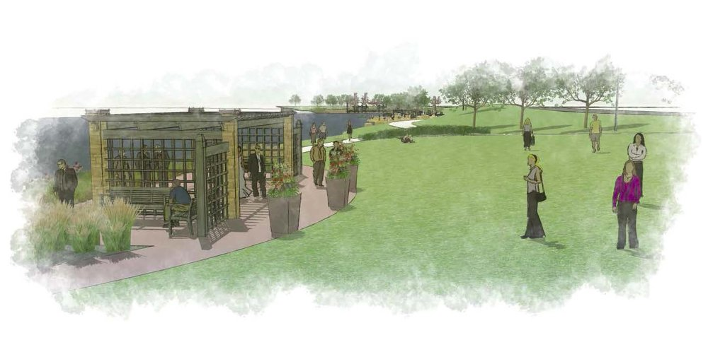 west SIDE LAKE WAlk — Potential Concept