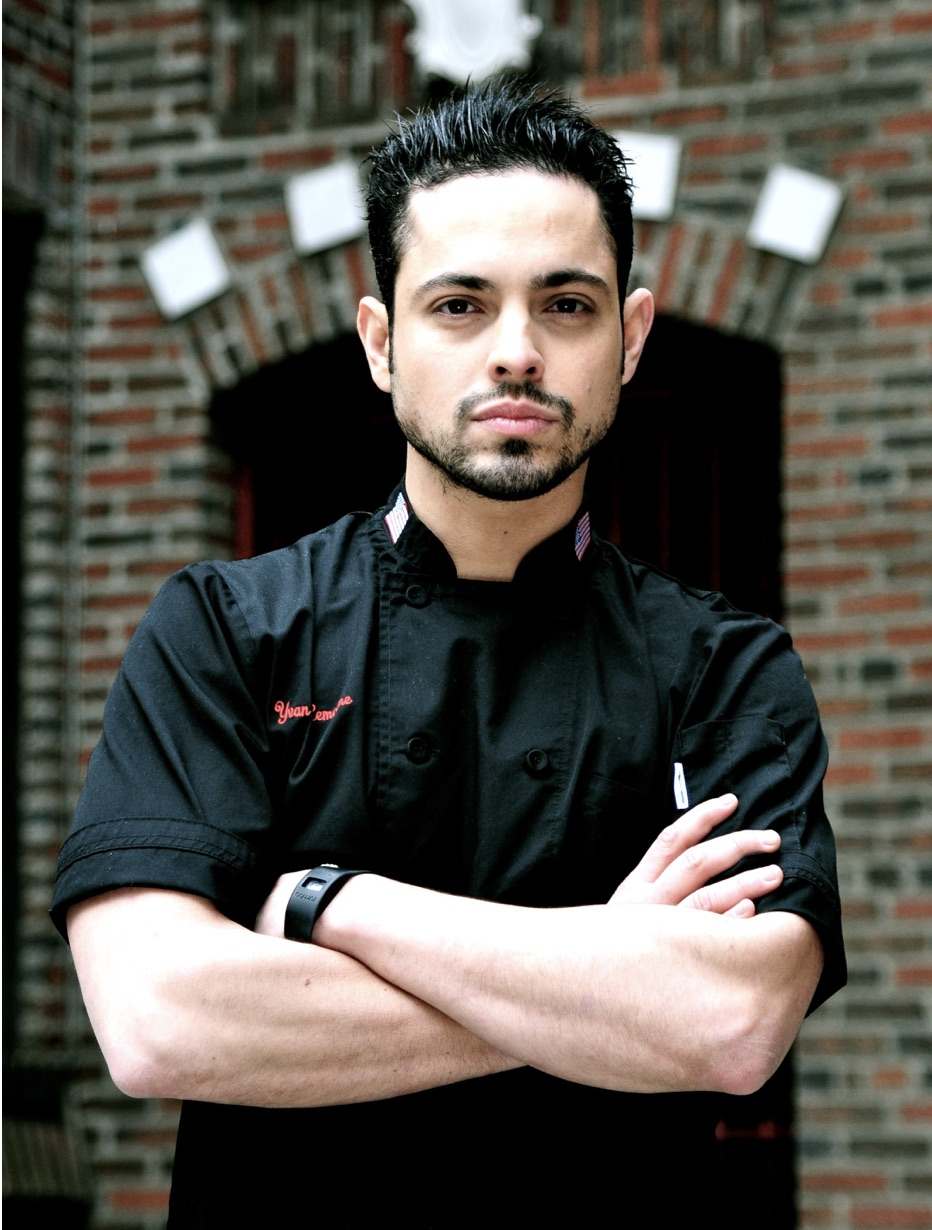 Yvan Lemoine  GITANO NYC EXECUTIVE CHEF & PARTNER    @YVANBOOM    Yvan is a rising culinary star and has joined GITANO NYC as an investor and Executive Chef. He previously spent 8 years with the Tao Group where he became Chef de Cuisine at Bodega Negra and was involved in the opening of Lavo, Surf Lodge and other places.  Yvan was born in Venezuela and moved to Brooklyn at the age of 13. He began his career at 15 years old in the famed French Manhattan restaurant La Caravelle with chef Cyril Renaud. Yvan then went on to work with Jacques Torres at Le Cirque 2000, then with Rocco Dispirito and Sam Mason. He then went on to cook for dignitaries and royalty at the French consulate in NYC. In 2015, Yvan won the Daniel Boulud/ Paul Bocuse full scholarship and attended the prestigious Institut Paul Bocuse in Lyon, France. He then had the opportunity to work at Le Neuvieme Art, a 2-star Michelin restaurant in Lyon with Chef Christophe Roure MOF.