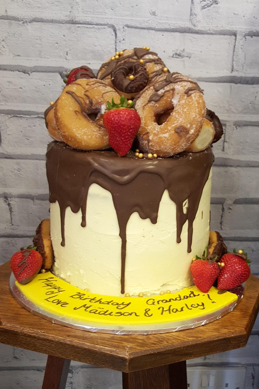 Grandad's doughnut delight!