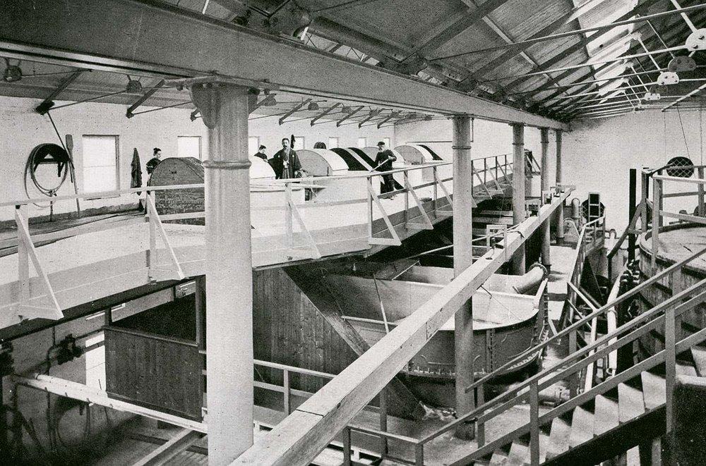 A cordite factory