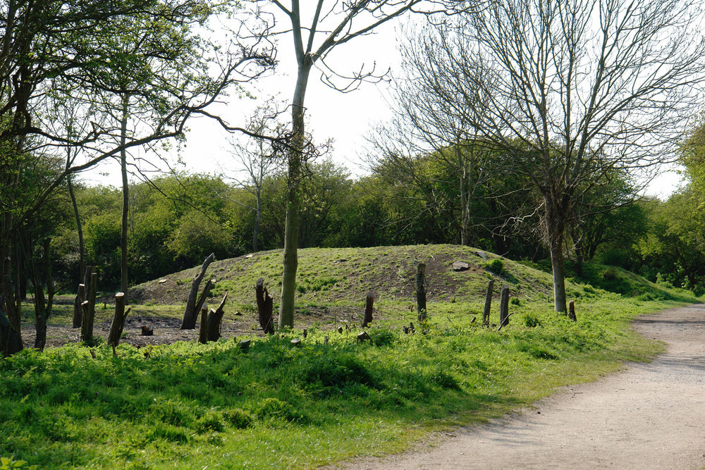 The blast mounds at Wat Tyler are far more than landscaping.