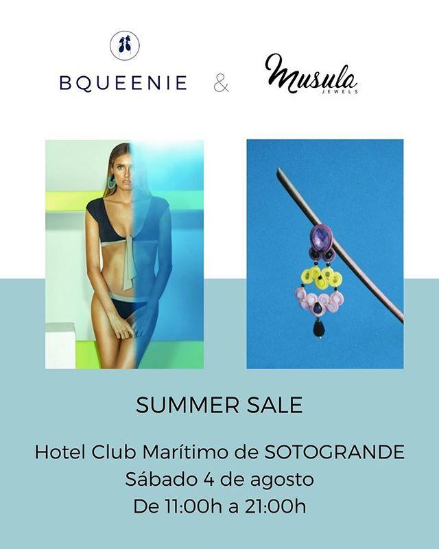 📣Venta en SOTOGRANDE 📣Sábado 4 de agosto en el Hotel Club Marítimo de Sotogrande de 11h a 21h 👙Todo seguirá rebajado 👙