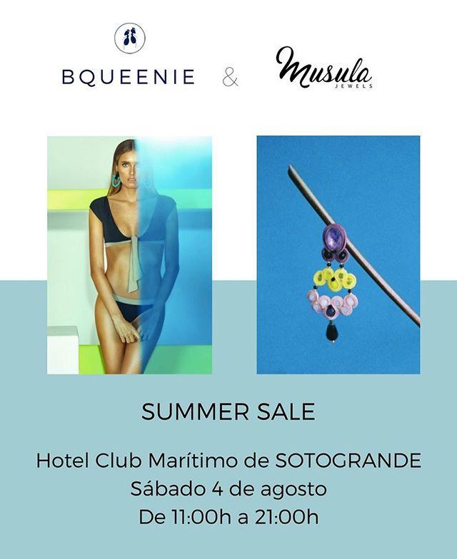 📣Venta en SOTOGRANDE 📣Mañana sábado 4 de agosto en el Hotel Club Marítimo de Sotogrande de 11h a 21h 👙Todo seguirá rebajado 👙