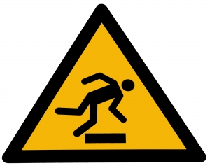 caution-tripping