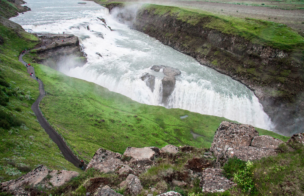 Natural treasures in South Iceland