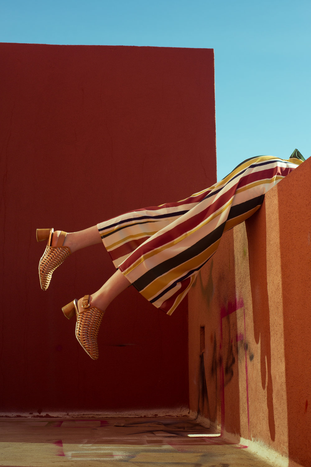 photography by Jazmin Ramirez — art direction by Mariah Romero — Goler Shoes Spring Campaign