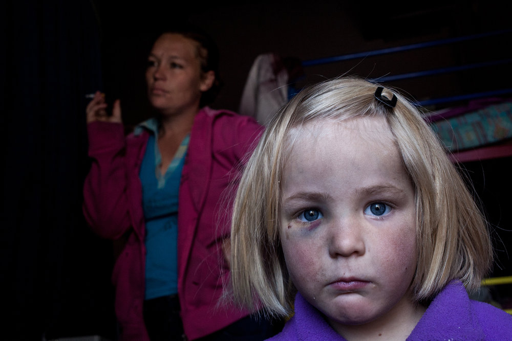 Samantha,5, staying with her parents. Ermelo.2014.jpg