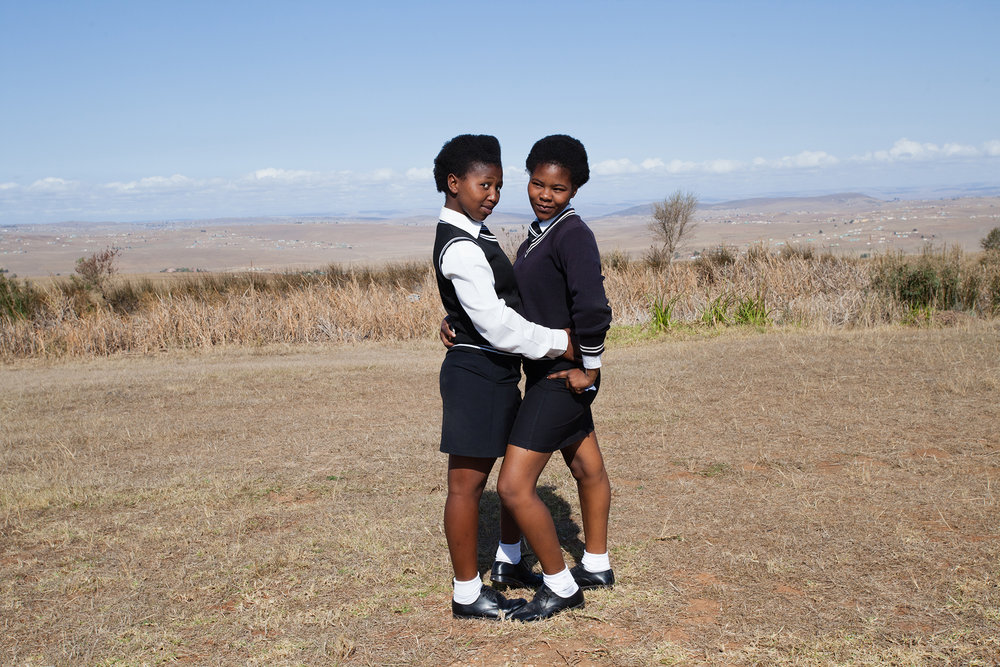 Xhosa girls in Qunu village. 2014.jpg
