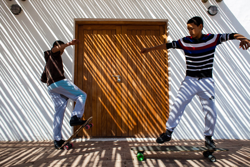 young playing skating in Elands bay. 2014.jpg