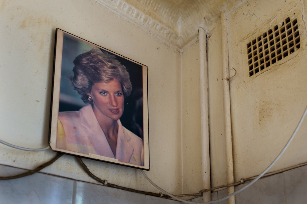 Fietas  Princess Diana in the kitchen.  Format: Hahnemuhle Photo Rag Size: 11.69 x 16.53 inches (A3) Signed, Edition of 20 Price increases as Edition sells R1800 (approx. $130)