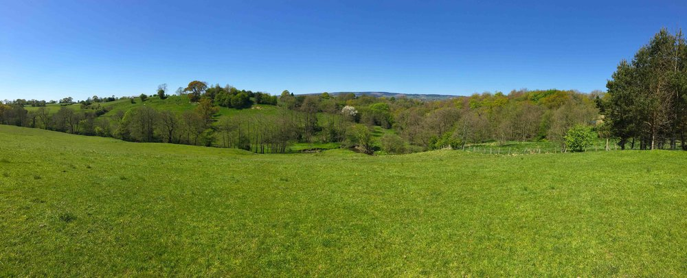 The Valley for Phase 2 offers stunning views, on a natural camber, showing off the Ribble Valley & Trough of Bowland
