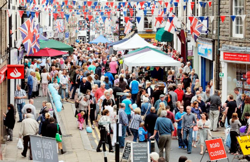 CLITHEROE FOOD FESTIVAL IS NATIONALLY RENOWNED