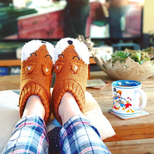 New slippers 🦊🦊 and only £4.50! . . #Slippers #Foxes #ToastyToes