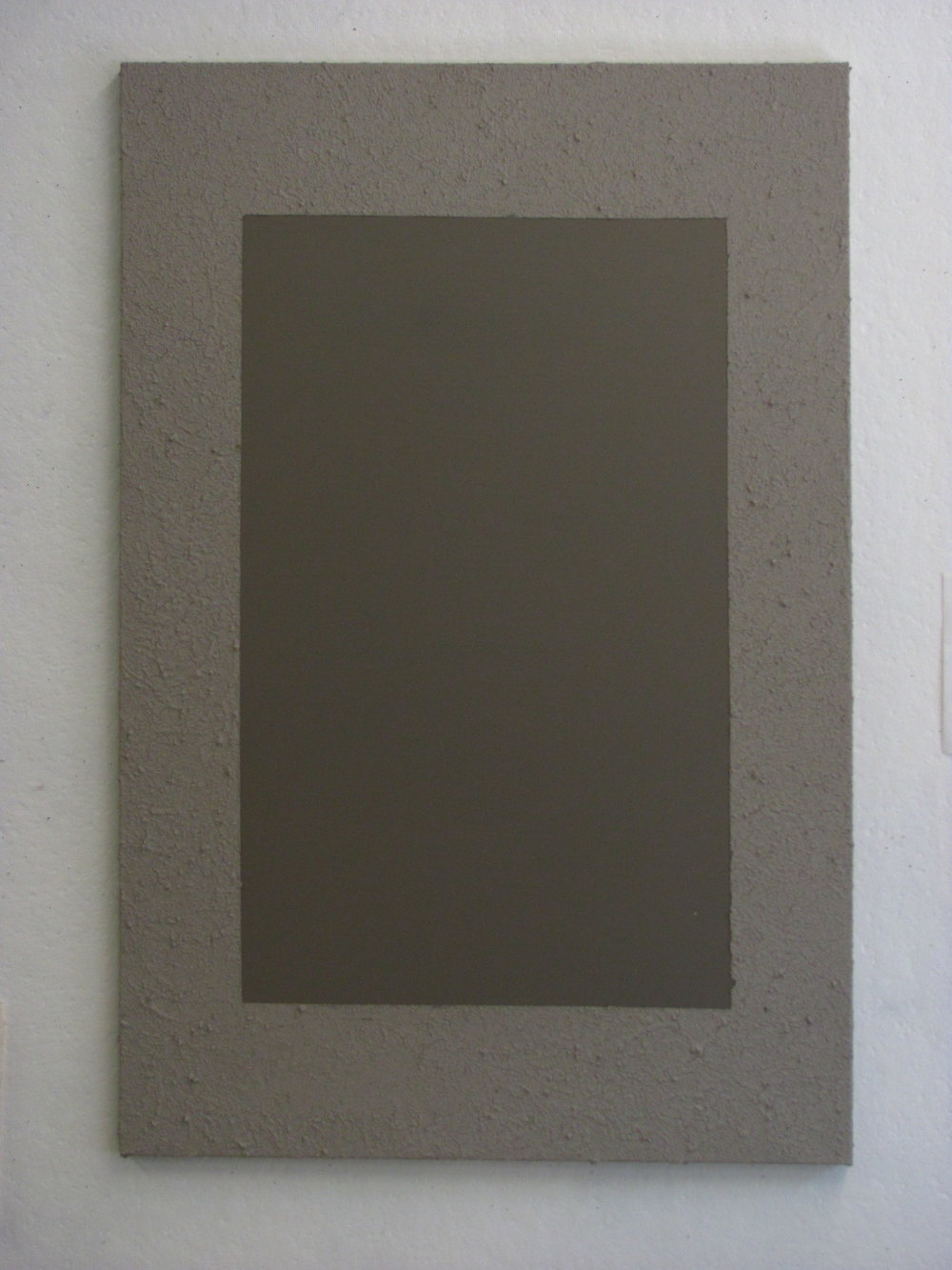 "Sandy light grey around dark grey, 24""x36"""