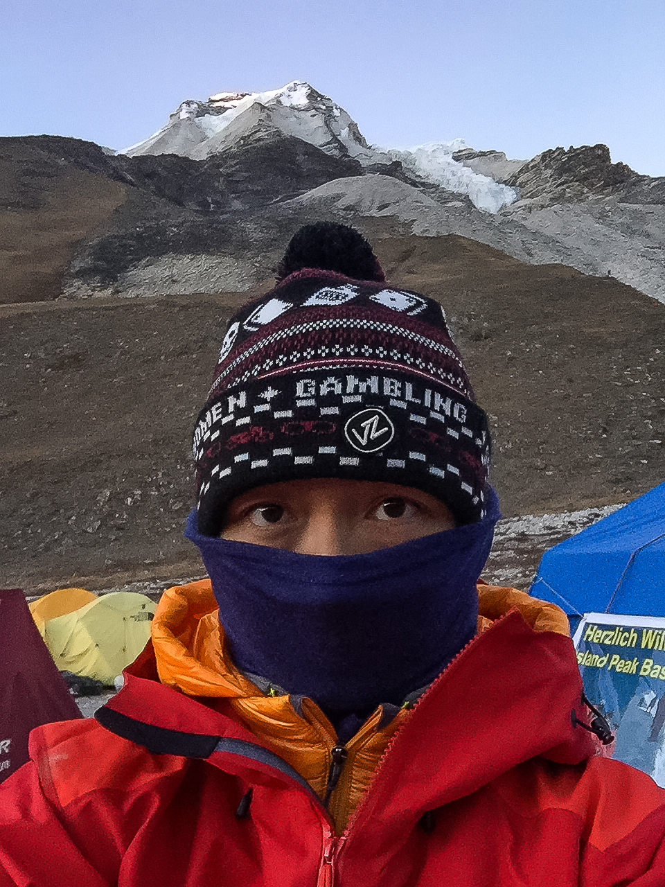Selfie with Island Peak