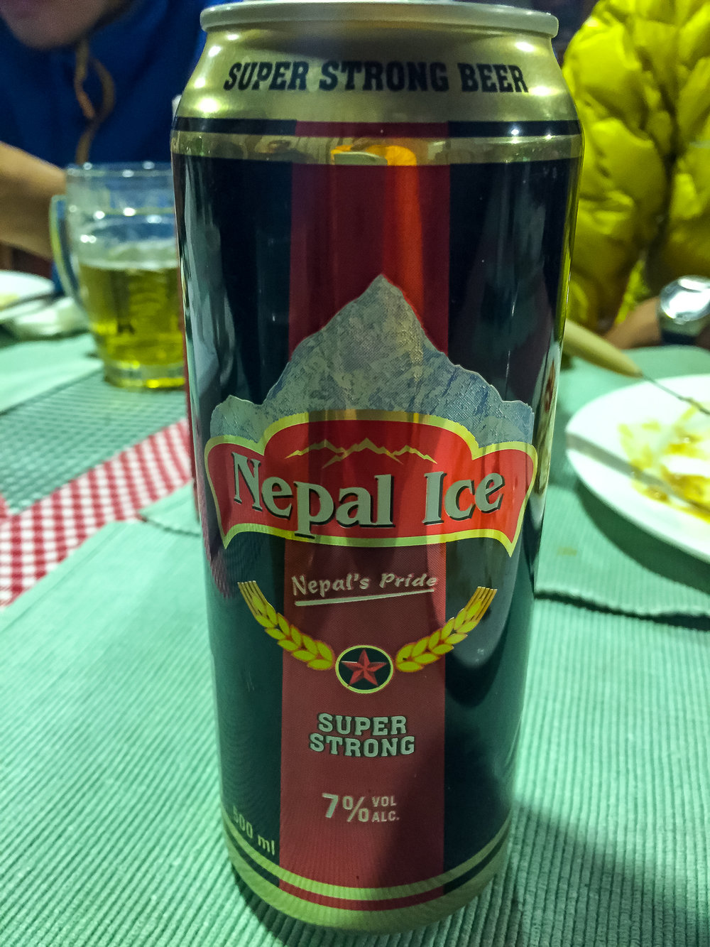 This was the best Nepali beer I've tried!