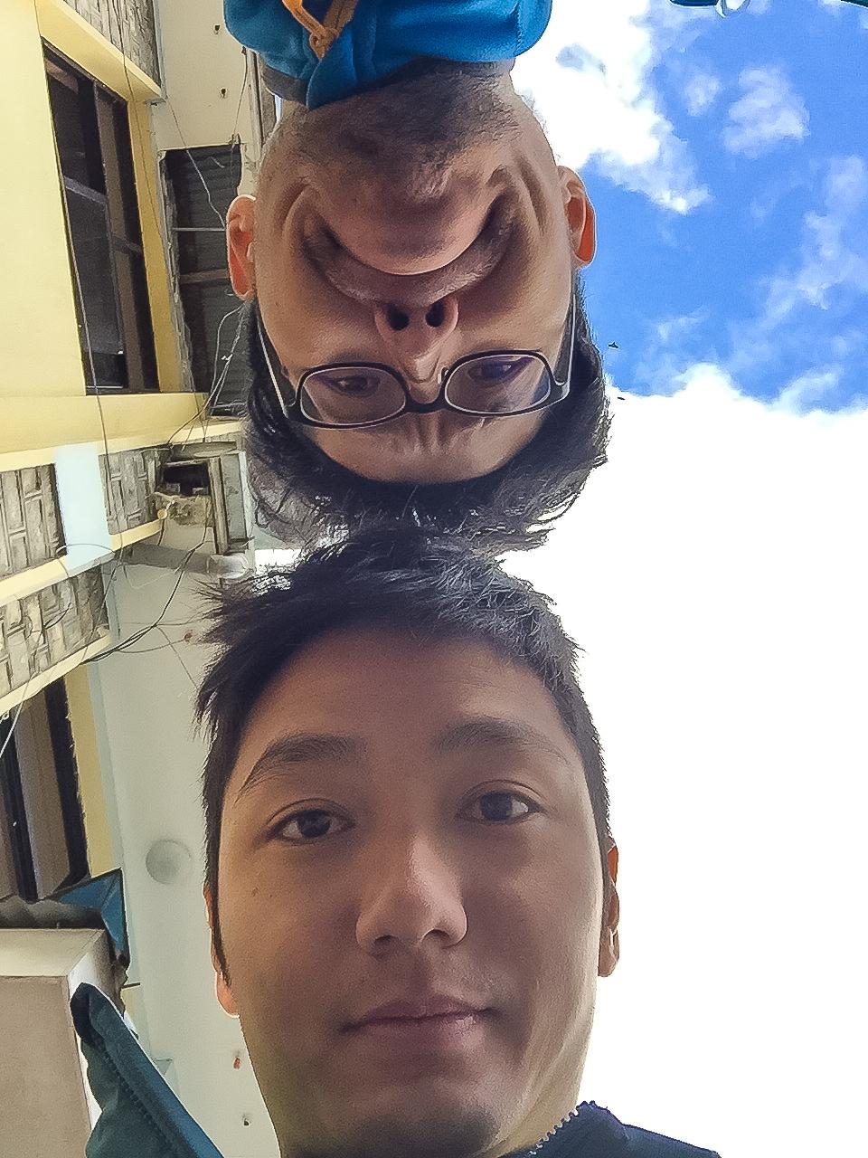 Selfie got Photobombed