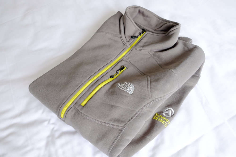 The North Face Summit Series Flux Power 1/4 Zip  fleece