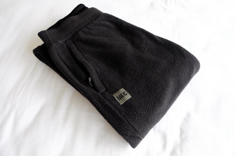 MEC Trek fleece pants