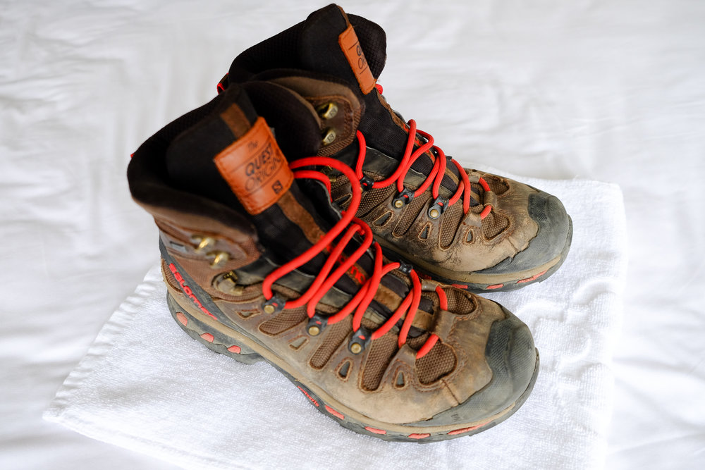 Salomon Quest Origins GTX boots