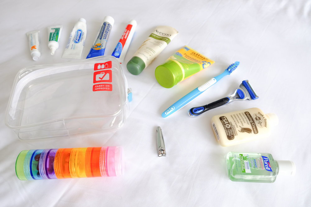 Personal care items & Medication