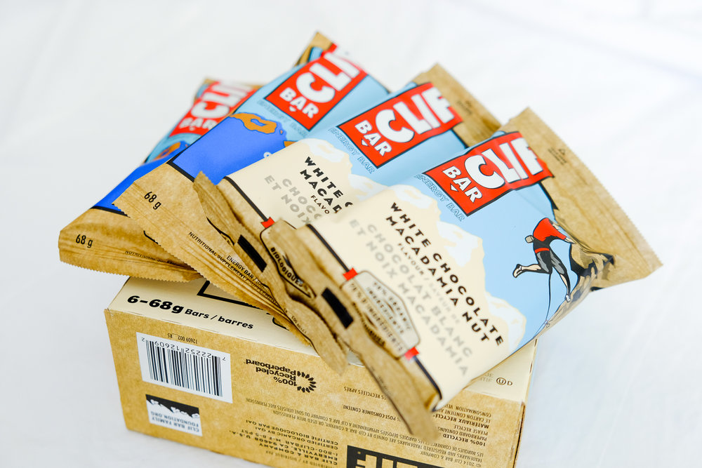Clif  & various  Protein Bars