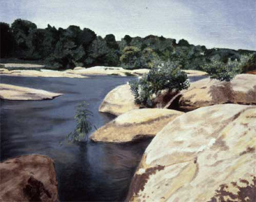 "James River #3 - Acrylic | 24""x36"""