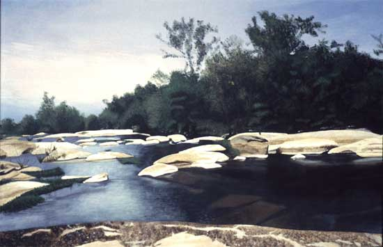 "James River #4 - Acrylic | 24""x36"""