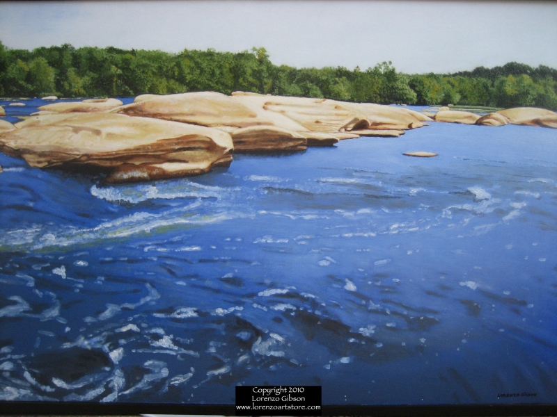 James River, Pony Pasture I