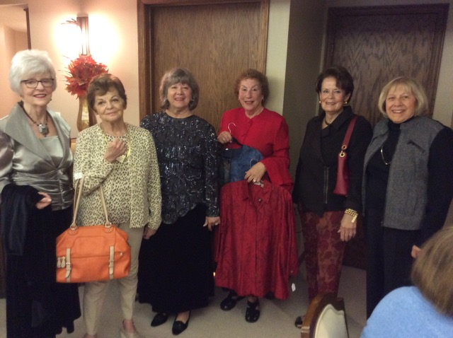 Thanks to the lovely models at our Nifty Thrifty Fashion Show on October 2nd.