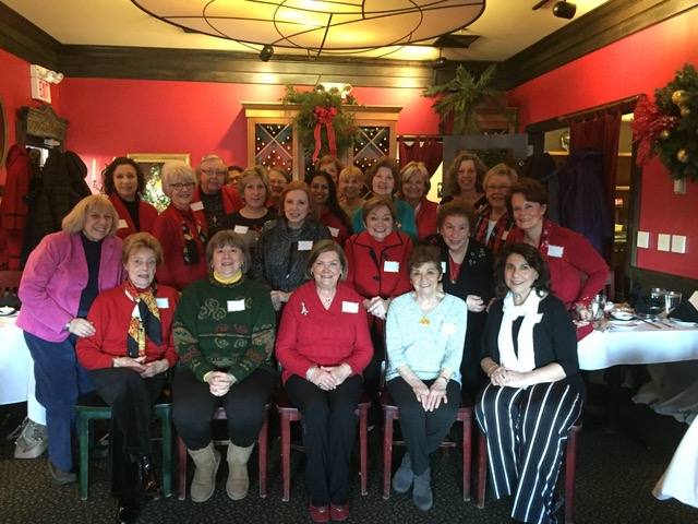 2018 Annual Holiday Luncheon at Quarter Bistro December 4th.