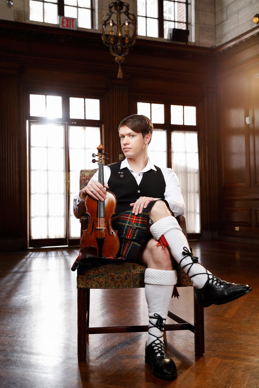 Seán Heely - ViolinistArtist-in-Residence - Strathmore