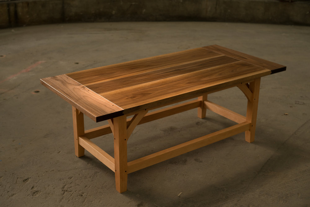 This Coffee Table Draws Much Inspiration From Traditional Construction  Techniques That Would Have Been Found Around The Farm A Hundred Years Ago.