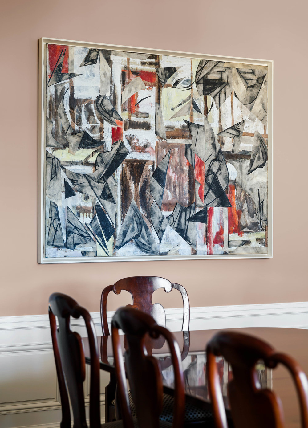 Lee Krasner, Oil on Canvas