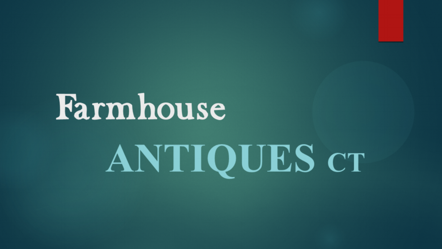 Farmhouse Antiques