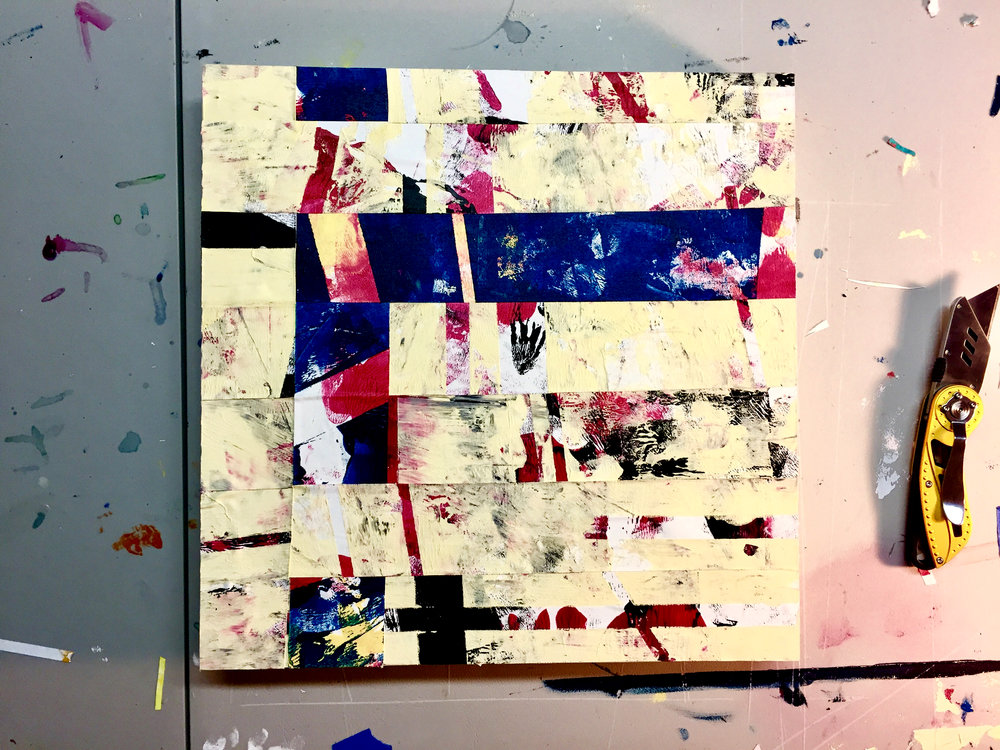 Wax On Wax Off 12x12