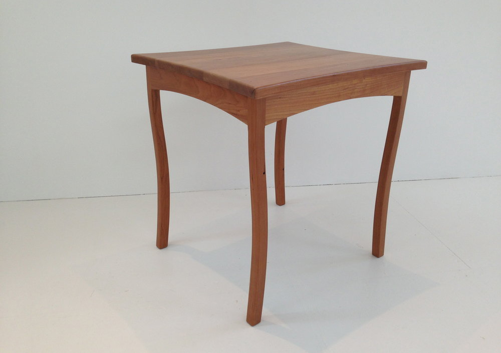 Cherry wood Occasional Lamp Table