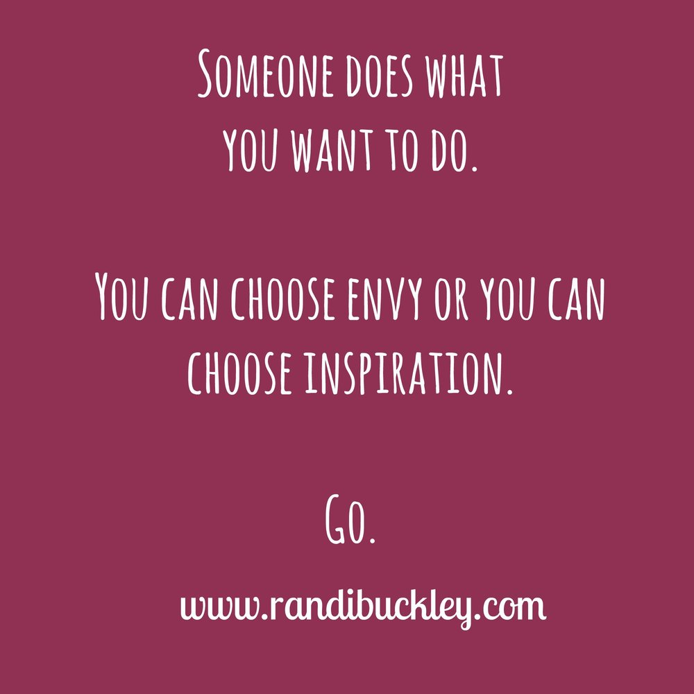 envy or inspiration