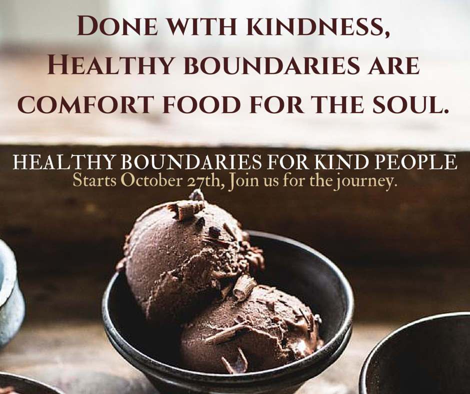 Done w kindness, Healthy boundaries are (2)
