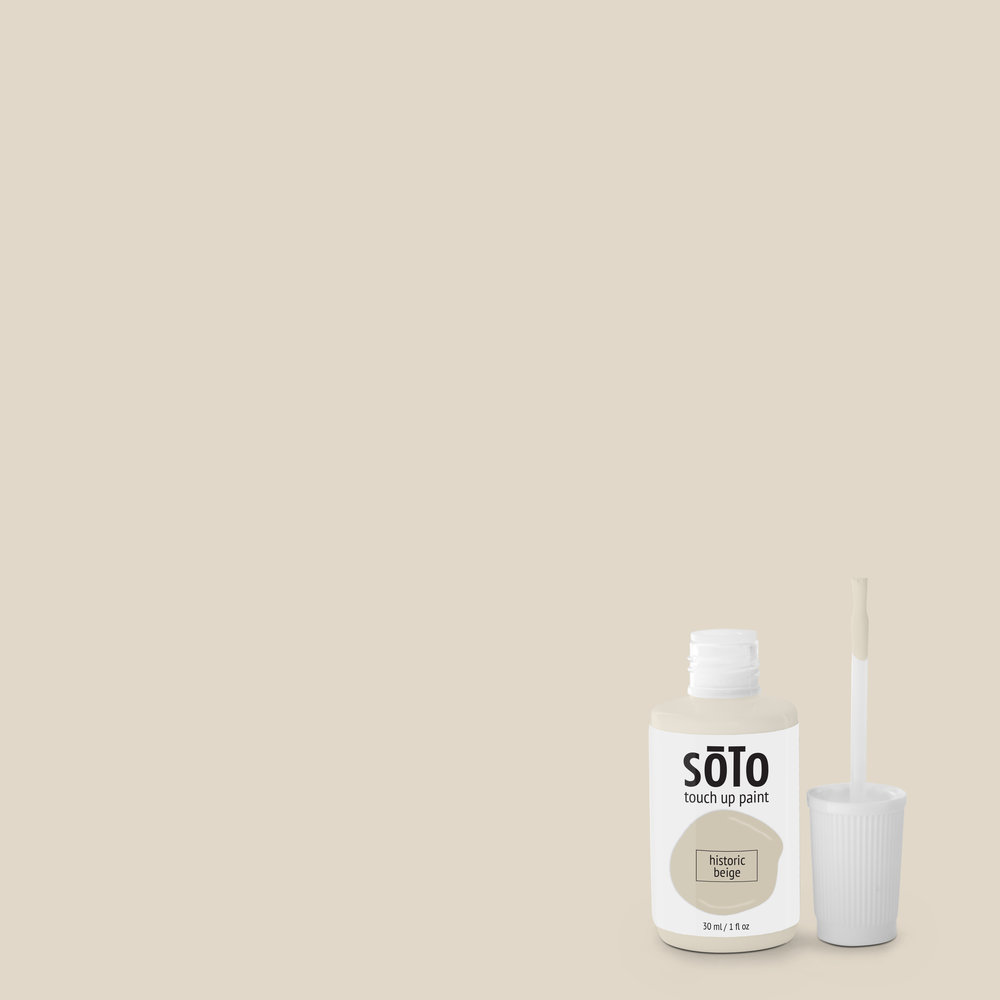 No. 09 Historic Beige   Hue: Beige Temperature: Cool Undertone: Grey