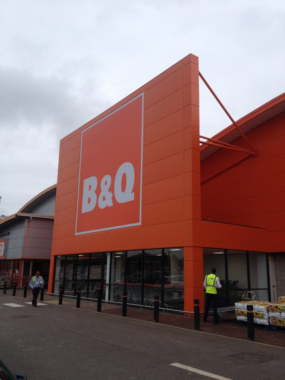 B&Q Entrances - Various