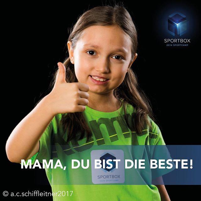 Die SPORTBOX wünscht allen Mamas einen schönen #Muttertag! Und vielleicht meldet sie dich ja auch zur @sportbox.cc #DeinSportcamp an!