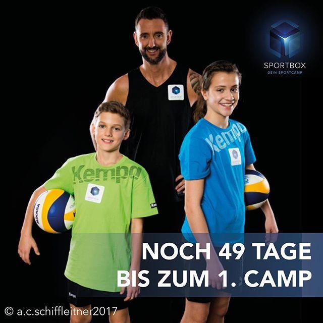 Der #SPORTBOXcountdown läuft! Noch 49 Tage bis zum 1. #Sommercamp in Wien & St. Pölten ab 3. Juli! Sei dabei! www.sportbox.cc @sportbox.cc #DeinSportcamp @clemensdoppler #beiunsbistduderstar #sport #spaß #sommer