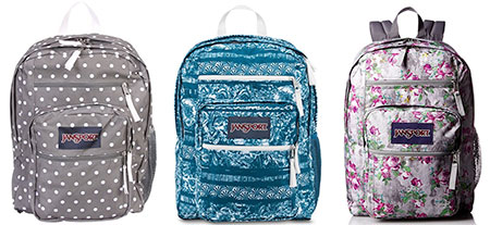 Jansport Big Student backpack - Cute Backpacks for College and Where to Buy Them. See the full list at backpackies.com