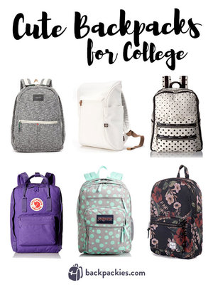 69b8854303 ... fashion backbacks  Campus Style 6 Cute Backpacks for College 2018 ...