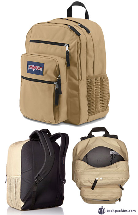 Jansport Big Student Backpack - We list the best affordable backpacks for school. Find more cheap large backpacks for college or high school at backpackies.com
