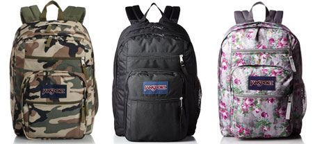 Jansport Big Student backpack review - We list the best affordable backpacks for school. Find more cheap large backpacks for college or high school at backpackies.com