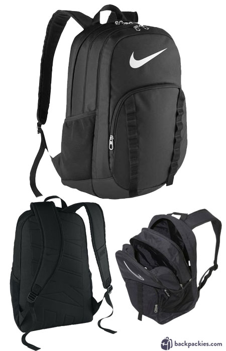 Nike Brasilia 7 XL backpack review - We list the best affordable backpacks for school. Find more cheap sports backpacks for college or high school at backpackies.com